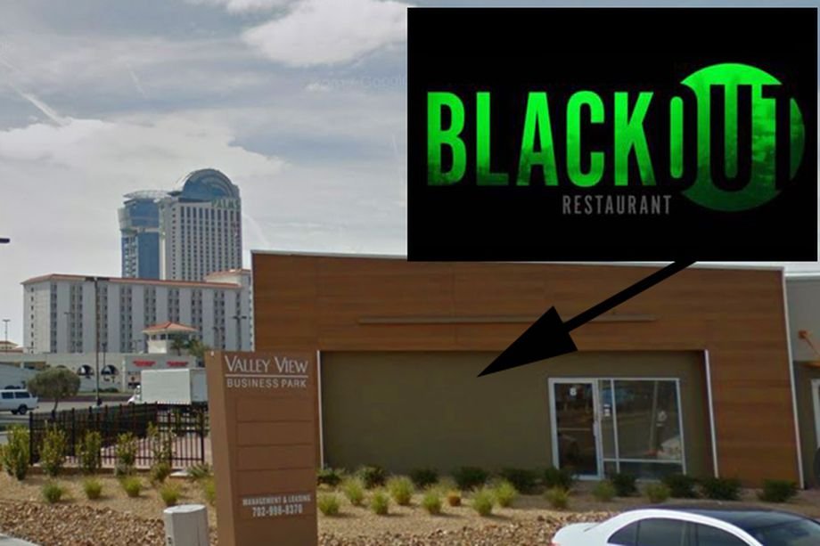 Blackout dining location photo