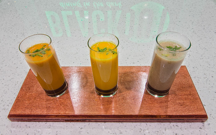 Try a Mystery Meal in Pitch Black- Las Vegas Review Journal